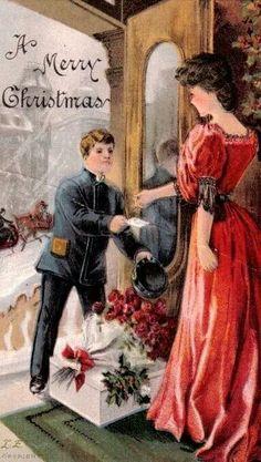 VINTAGE CARD.   1930s