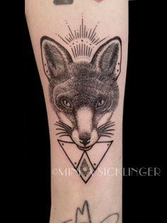 fox tattoo Minka Sicklinger