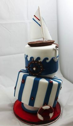 Our Pastry students created this nautical cake.