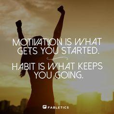Make it a habit! More workout motivation & fitness quotes on blog.fabletics.com