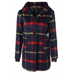 SHARE & Get it FREE | Checked Woolen Coat With HoodieFor Fashion Lovers only:80,000+ Items·FREE SHIPPING Join Dresslily: Get YOUR $50 NOW!
