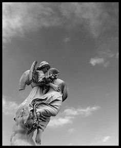 Heavenly Escort from St. Joseph's Cemetery in Cincinnati, Ohio………..WHAT A RAPTUROUS FEELING TO BE ESCORTED TO HEAVEN LIKE THIS………ccp