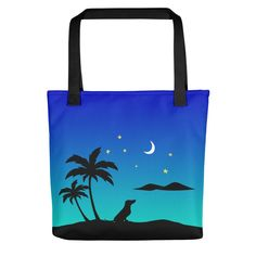 Dachshund Islands - Color Tote Bag