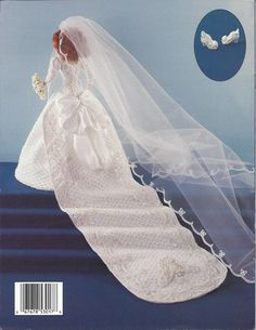Crochet Pattern 1986 Duchess Wedding Gown by KnitKnacksCreations