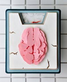 A great round up for cool anatomy art. Still kind of obsessed with brains. Also paper art is fucking cool.