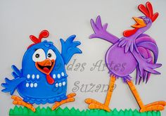 cia da arte: galinha pintadinha
