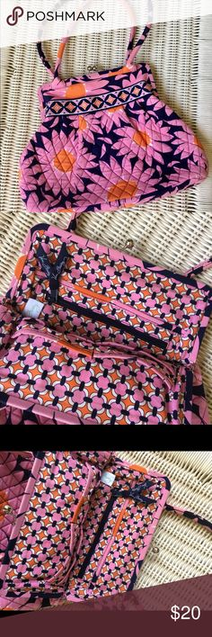 "Vera Bradley Love Me Bag So perfect for a summer day! Retired ""Love Me"" Authentic Vera Bradley bag is EUC and ready for a fun summer outing! Vera Bradley Bags"