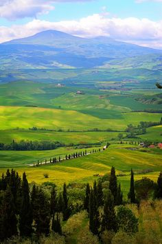 Travel Guide and Driving Routes through Tuscany.