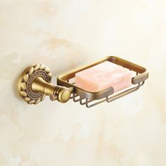 European Vintage Bathroom Accessories Antique Brass Soap Holder ($45) ❤ liked on Polyvore featuring home, bed & bath, bath, bath accessories, bathroom accessories, soap holders, vintage soap dish, vintage bath accessories, antique brass bathroom accessories and antique brass soap dish