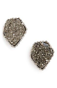 Free shipping and returns on Kendra Scott 'Tessa' Stone Stud Earrings at Nordstrom.com. Glistening, pentagonal stones nestle in gilded frames for sparkly stud earrings.