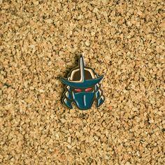 Shredder Helmet Pin