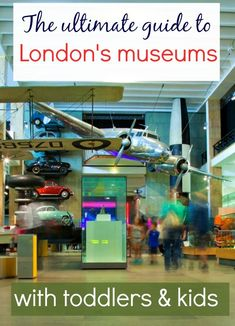 My ultimate guide to London's museums: tips for London museums with toddlers and kids, and where to visit - from dinosaurs to technology and transport London Tourist Guide, London Travel, Travel With Kids, Family Travel, London With Toddlers, Days Out In London, London Museums, Family Days Out, London Hotels