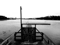 I want this on my wall! Calm Waters, Utility Pole, Black And White, Wall, Photography, Black White, Blanco Y Negro, Photograph, Fotografie