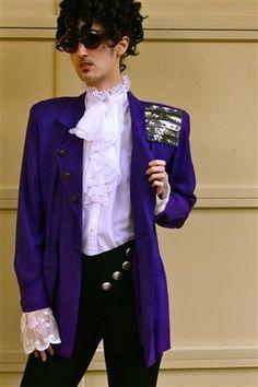 Prince in the era of Purple Rain - DIY Halloween Costume #creative ...