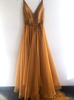 Simple V Neck Gold A-line Long Evening Prom Dresses, Cheap Custom Sweet 16 Dress. - Simple V Neck Gold A-line Long Evening Prom Dresses, Cheap Custom Sweet 16 Dresses, 18565 Source by - V Neck Prom Dresses, Cheap Prom Dresses, V Neck Dress, Evening Dresses, Dress Up, Bridesmaid Dresses, Dress Long, Long Dresses, Dresses Dresses