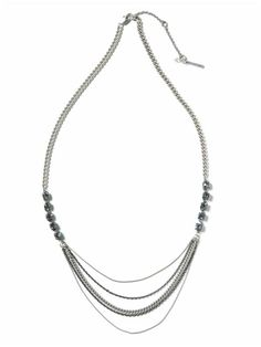 Kenneth Cole New York Chain Drape Necklace