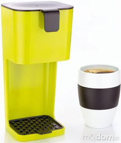 Green and simple Coffee Maker by designea.sk