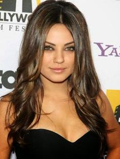7 Hair color Ideas for Brunettes