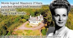 Maureen O'Hara property up for sale