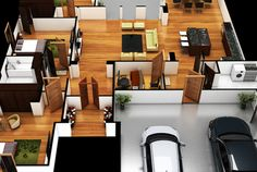 Fiverr freelancer will provide Architecture & Interior Design services and design floor plan rendering of home or real estate within 1 day Round House Plans, Luxury Homes Dream Houses, Interior Design Services, Service Design, Interior Architecture, Floor Plans, Real Estate, Flooring, 3d