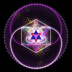 Návod jak si můžete začít tvořit pouze to, co je pro vás příjemné, radostné a… Alchemy Symbols, Magic Symbols, Fractal Art, Fractals, Sacred Geometry Art, Basic Yoga, Visionary Art, Flower Of Life, Ancient History