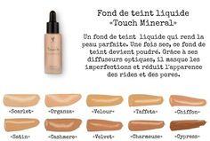 Fond de teint liquide touch mineral . Fini mat
