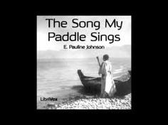 Image result for e pauline johnson George Sand, First Nations, Paddle, Audio Books, Singing, Self, Poetry, Songs, Writing