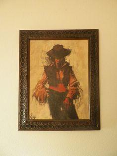 Senorita Painting Signed by Keith Lee by OldSowellShop on Etsy
