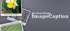 ImageCaption – a MooTools Plugin for Auto-Captioning Images