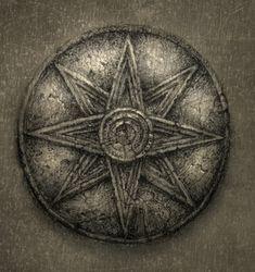Star of Ur - symbol of the Mesopotamian goddess Inanna / Ishtar.