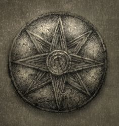 Star of Ur - symbol of the Mesopotamian goddess Inanna / Ishtar.