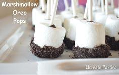 Marshmallow Oreo pops