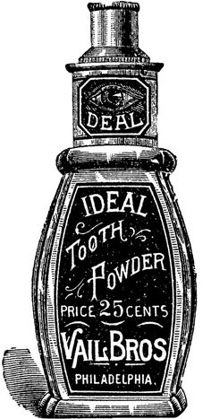 tooth powder graphic