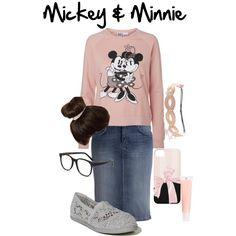 Mickey & Minnie. I love Mickey Mouse wen I was a kid