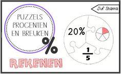 Juf Shanna: Puzzels - Breuken en Procenten bovenbouw