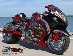 Triumph Motorcycles, Cool Motorcycles, Hyabusa Motorcycle, Suzuki Motorcycle, Custom Street Bikes, Custom Sport Bikes, Drag Bike, Bobbers, Motocross