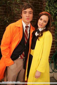 young Chuck and Blair