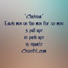 """WOD """"Chelsea"""" Crossfit"""