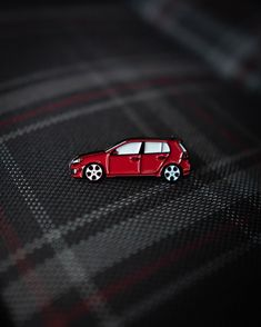 Created these beautiful VW GTI Soft enamel pin for the love of Volkswagen culture Mk6 Gti, Black Rubber, Volkswagen, Enamel, Golf, Culture, Beautiful, Isomalt, Enamels