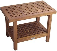 Special Offers - 24 Teak Shower Bench  From the Grate Collection - In stock & Free Shipping. You can save more money! Check It (June 02 2016 at 08:17PM) >> http://bathvanitiesusa.net/24-teak-shower-bench-from-the-grate-collection/