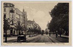 Dawny Gdańsk :: Zobacz temat - Langfuhr - Haupstrasse