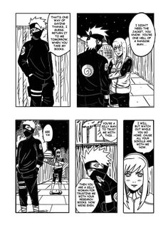 Page 5 Page 6 (here) Page 7 This story might have gone a little further than halfway. QUIE further. Enmashi Page 6 Mini Doujin. Naruto Oc, Kakashi, Doujinshi, My Books, Beast, Deviantart, Manga, Comics, Cool Stuff