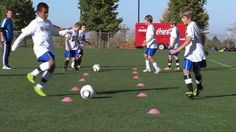 Soccer Training - Passing Drills 1