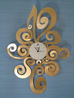 Relojes de Pared Noemi. Decoracion Beltran, tu tienda online de relojes de pared decorativos de diseño moderno.