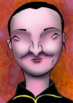 有名人の似顔絵