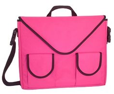 Rainebrooke™ Metro Lite Laptop Bag / Case - Hot Pink  Price: 34.00  The colorful Metro Lite laptop bag is lightweight, padded and comfortable for carrying your laptop to work, class or the coffee shop. Features include: adjustable shoulder strap, shoulder pad, pockets for your phone, PDA or iPod, pocket for files, easy to personalize.