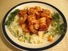 Recetas de comida mexicana:  Camarones al Mojo de Ajo-- my favorite!