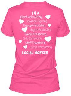 Proud Social Worker   Teespring