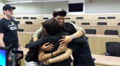 Final hug
