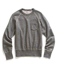 Salt & Pepper Pocket Sweatshirt by Todd Snyder